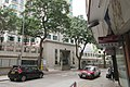 HK 香港 半山區 Mid-levels 列堤頓道 48 Lyttelton Road 俊傑花園 Scholastic Garden trees n Fook Wan Mansions shop signs April 2017 IX1.jpg