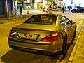 HK SYP Queen's Road West night Benz AMG grey car parking Jan-2016 DSC (6).JPG