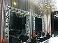 HK Sheung Wan 上環 night 士丹頓街 Staunton Street 尚賢居 CentrePoint lobby hall wall mirror interior Jan-2012.jpg