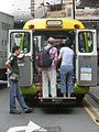 HK Sheung Wan Morrison Street HKSR Hong Kong Society Rehabilitation 香港復康會 RehaBus services Sept-2013 tail.JPG