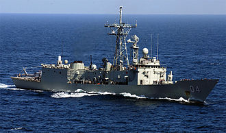 Adelaide-class frigate - Image: HMAS Darwin F 04