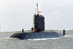 Το HMCS Windsor του Καναδικού Ναυτικού