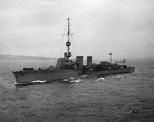 HMS Castor (1915) - Image: HMS Castor