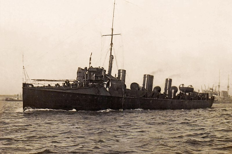 File:HMS Spiteful under way.jpg