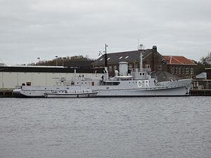HNLMS Abraham Crijnssen (1936) - Abraham Crijnssen at the Dutch Navy Museum in Den Helder in 2011