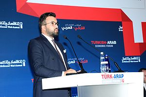 Abdulaziz Bin Turki Bin Talal Al-Saud - Abdulaziz at the Turkish Arab Economic Forum