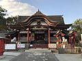 Haiden of Mizuta Temman Shrine.jpg