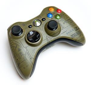 Xbox 360 controller - Special Edition Halo 3: ODST controller