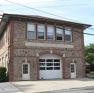 Mamaroneck (village), New York - Halstead Manor Fire Station of Mamaroneck Fire Department