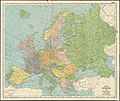 Hammond's enlarged map of Europe of to-day showing boundaries of the new states as determined by the peace conference (14774002657).jpg