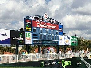 Hammond Stadium - Scoreboard