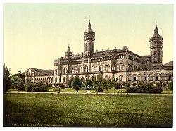 Hannover Welfenschloss (um 1895).jpg