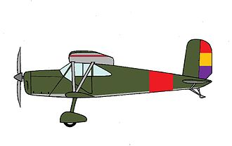 Hanriot H.180 - Hanriot H.182 trainer of the Spanish Republican Air Force