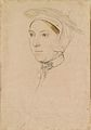 Hans Holbein the Younger - An unidentified woman RL 12254.jpg