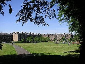 Shandon, Edinburgh - Harrison Park looking Northwest