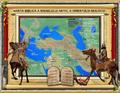 Harta 8 Migraţia lui Avraam din Ur în Canaan.3D digital art.png