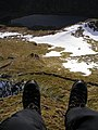 Having a Dangle over Loch Restil - geograph.org.uk - 762859.jpg