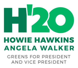 Howie Hawkins 2020 presidential campaign Political campaign