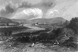 Old Haydon Bridge - Old Haydon Bridge in January 1837