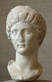 Head Drusilla Glyptothek Munich 316