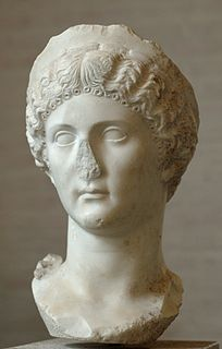 Julia Drusilla Member of the Julio-Claudian Dynasty and sister of Emperor Caligula (AD 16-38)
