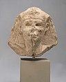 Head of a king as Khepri, possibly Ptolemy VI Philometor MET 66.99.166 01.jpg