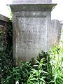 Headstone of jockey Samuel Chifney Jr. and wife Sarah Mary Perren.jpg