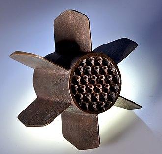 Metal foam - Image: Heat sink copper foam