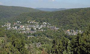 Ortsansicht Heimbach/Eifel