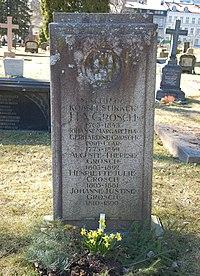 Heinrich August Grosch, gravminne på Vår Frelsers gravlund, Oslo.jpg