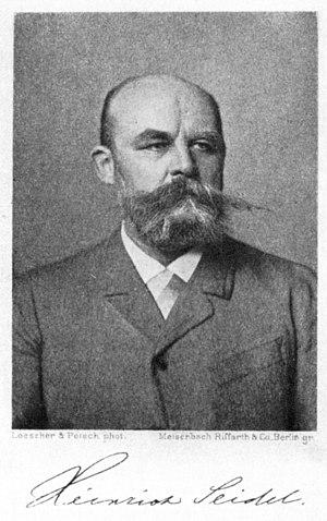 Heinrich Seidel - Heinrich Seidel (around 1890)
