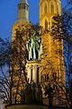 Heinrichsbrunnen at night - Braunschweig, Germany - DSC05326.JPG