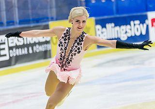 Viktoria Helgesson figure skater