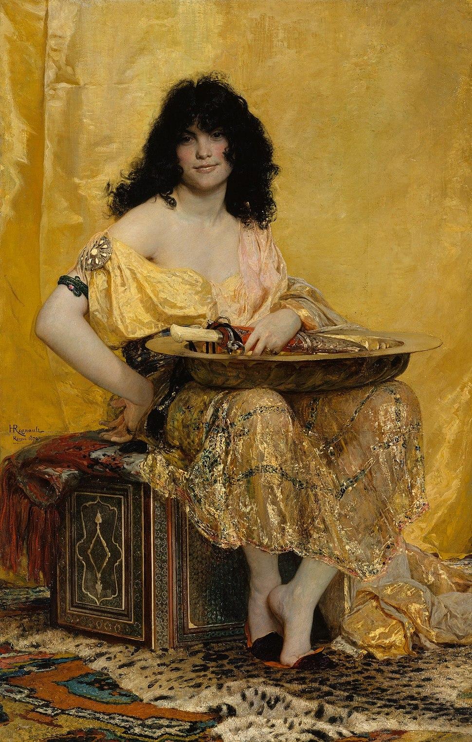 Henri Regnault (French, Paris 1843–1871 Buzenval) - Salomé - Google Art Project
