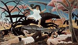Henri Rousseau: La Guerre
