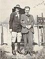 Henrietta Bingham and Stephen Tomlin, photo by Dora Carrington (cropped) (cropped).jpg
