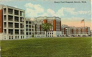 Henry Ford Hospital Detroit c. 1920