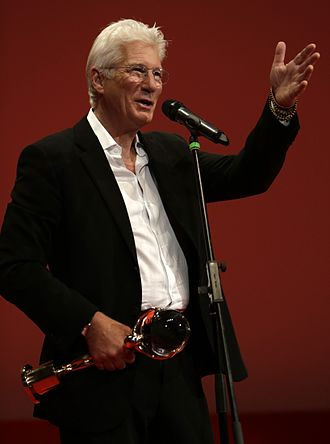Karlovy Vary International Film Festival - Richard Gere with the Crystal Globe at the 50th Karlovy Vary IFF (2015)