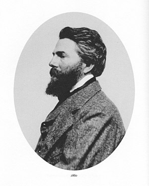 English: Herman Melville in 1860.