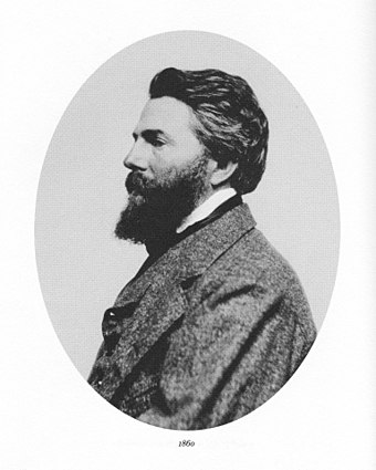 Herman Melville profile., From WikimediaPhotos