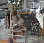 Hermann Graf Jacket and Me 109 rudder (crop).JPG