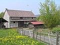 Hessenpark, Scheune aus Gungelshausen.JPG