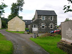 Hessilhead Farm Town Old School.JPG