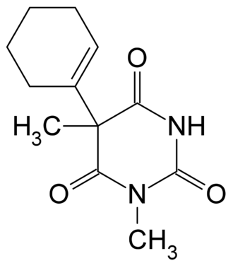 Hexobarbital - Image: Hexobarbital