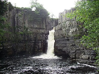 County Durham - High Force waterfall on the River Tees