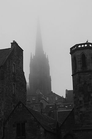 The Hub, Edinburgh - Highland Tolbooth Edinburgh seen from Greyfriars