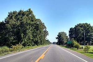 Arkansas Highway 31 - Highway 31 south of Beebe
