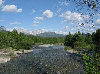Highwood River - The Highwood from Alberta Highway 40