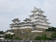 Himeji Castle Keep Tower after restoration 2015.jpg