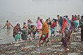 Hindu Devotees Taking Holy Dip In Ganga - Makar Sankranti Observance - Kolkata 2018-01-14 6644.JPG